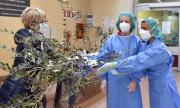 """Българска сестра в Италия: """"Постоянно сме с пациентите, не ги оставяме сами"""""""