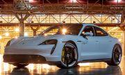 Porsche Taycan счупи рекорда за скорост в затворено помещение (ВИДЕО)