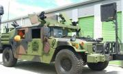 Продава се брониран армейски всъдеход с картечница