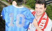 Бивш английски национал: Фланелката на Марадона от мача с