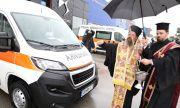 Кацаров връчи ключовете на 18 нови линейки