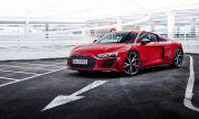 """Audi представи новото по-мощно R8 със """"задно"""""""