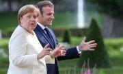 Байдън ще използва Макрон срещу Меркел