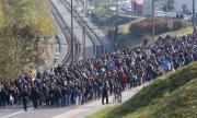 Смъртни заплахи за защитници на мигрантите