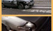 Блъснаха колата на