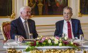 Чешкият президент е приет в болница