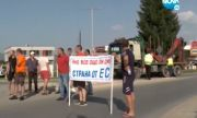 """Протестиращи искат незабавното отваряне на ГКПП """"Илинден"""" - """"Ексохи"""""""