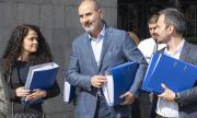 Цветан Цветанов подаде документи, за да регистрира партията си