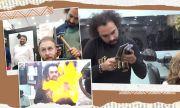 Пакистанец прави прически с чук, сатър и горелка (ВИДЕО)