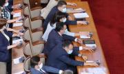 Парламентът е приел 72 закона от началото на годината