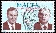 3 декември 1989 г. Горбачов и Буш слагат край на Студената война