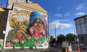 Изрисуваха уникален стенопис на фасада в София