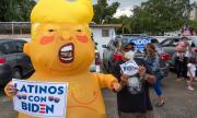 Джо Байдън води с 8% пред Тръмп