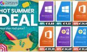 O2keys летни продажби: Windows 10 за €8,88, Office 2019 за €29,39, намаление до 55%!