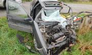 Катастрофа в Разградско, 20-годишен е с опасност за живота