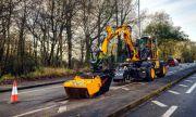 Нова машина ликвидира дупки на пътя за минути (ВИДЕО)