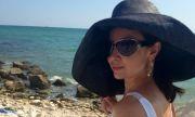 Вихра Петрова се мъчи на море в Гърция