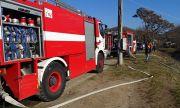 Купон в каравана завърши с голям пожар