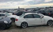 Шест години над 3000 нови BMW-та стоят изоставени в полето (ВИДЕО)