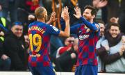Нов в Барселона: Няма да си пера тениската след прегръдката с Меси