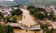 Нивото на водата в засегнатите райони в Западна Европа се повишава