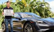 Актьор дава Porsche Taycan Turbo за $10