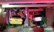 Шофьор блъсна два пъти една и съща къща с две различни коли