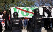Демонстрации и напрежение в Мадрид