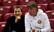 Илиана Раева хвали мъжа си: Левски е съдбата на Наско, той е блестящ ръководител