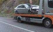 Тежка катастрофа затвори пътя Банско-Гоце Делчев