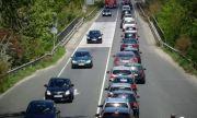 Интензивен трафик към столицата в последния почивен ден