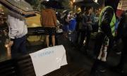 Три кръстовища в София остават блокирани
