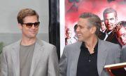 Джордж Клуни сподели любопитна история с Брад Пит