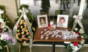 Десетки хора изпратиха лекарката от Сливен, починала от коронавируса