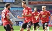 Манчестър Юнайтед победи Брайтън в мач с четири греди, отменени голове, дузпи и гол в продължението (ВИДЕО)