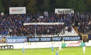 Ново напрежение в сектора на Левски и куп изпочупени седалки на мача със Славия
