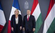 Нов съюз! Марин льо Пен подкрепи Орбан, обвини ЕС в идеологическа бруталност