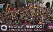 В Каталуния отново ври и кипи