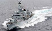Руските военни пуснаха кадри от екшъна над британския разрушител (ВИДЕО)