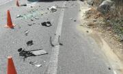 Катастрофа между автобус на градския транспорт и мотор в София