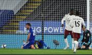 Арсенал продължава за Купата на лигата след победа над Лестър (ВИДЕО)