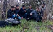 В Софийско арестуваха голяма група нелегални мигранти