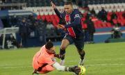 ПСЖ не успя да победи Бордо след драма на
