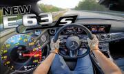 От 0 до 300 км/ч зад волана на Mercedes-AMG E63s (ВИДЕО)