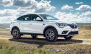 Купеобразното Renault - с емблемата на Запорожец