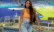 """UEFA EURO 2020: Новото гадже на Мбапе остава вярна на """"Скуадра Адзура"""""""