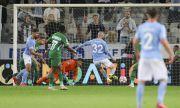Агресивен Малмьо отдалечи Лудогорец от групите на Шампионската лига
