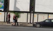Юмруци на пътя в Пловдив
