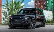 Land Rover Defender от Manhart губи възможностите си за офроуд, но получава стилна визия и 512 конски сили