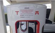 Първата зарядна станция на Tesla вече не работи